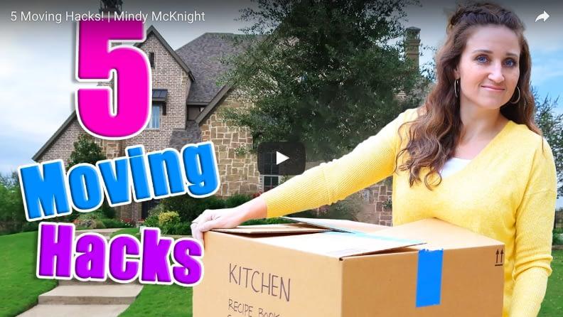 5 Moving Hacks (by Mindy McKnight)